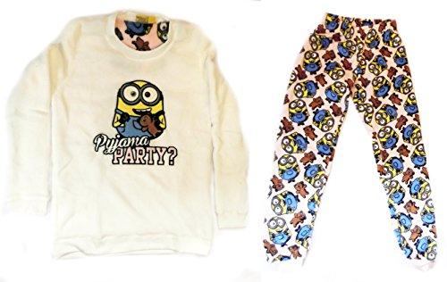 Love to Lounge - Ensemble de pyjama - Femme Minions Bob/Yellow