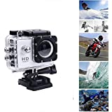 MOBONIC 1080P Waterproof Sports Action Camera - 4K Ultra HD, 16MP,2 Inch LCD Display, HDMI Out, 170 Degree Wide Angle Compatible With All Smartphones (One Year Warranty)