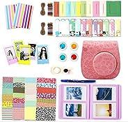 10 in 1 Bundles Fujifilm Instax Mini 8 / Mini 9 / Mini 8, Camera Accessories Fujifilm Set - Pink