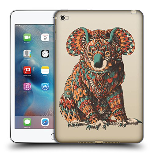 Ufficiale Bioworkz Koala Natura Selvaggia Colorata 2 Cover Morbida In Gel Per Apple iPad mini 4