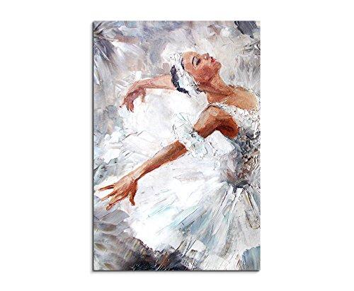Paul Sinus Art Fotoleinwand 90x60cm Bild - Ballerina