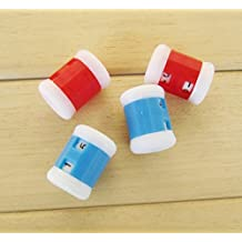 honeysuck 4pcs plástico herramienta de punto Agujas de tejer orgullo cuentavueltas 2tamaños (color al azar)