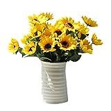 Gaddrt Falso Arredamento Seta Artificiale 14 Teste Girasole Bouquet Floreale Floreale Home Decor