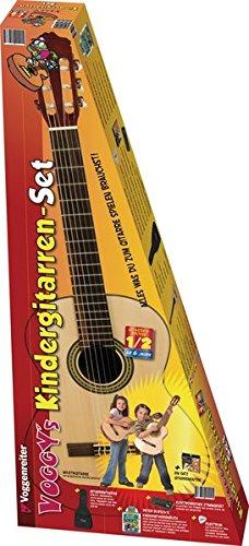 Voggenreiter 492 Voggy - Set de guitarra y accesorios para niños importado de Alemania