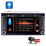 Auto GPS-Navigation Autoradio 7-Zoll kapazitive Touchscreen MP5 Autoradio-Stereo F¨¹r Toyota Corolla Receiver mit WinCE-System im Schlag Haedunit Unterst¨¹tzung Bluetooth USB / SD-Karte FM / AM Radio 1080P Video Aux Input + Free Rear View Camera