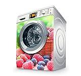 Vinilo Lavadora | Stickers Washing machine| Pegatina Lavadora | Red Fruits