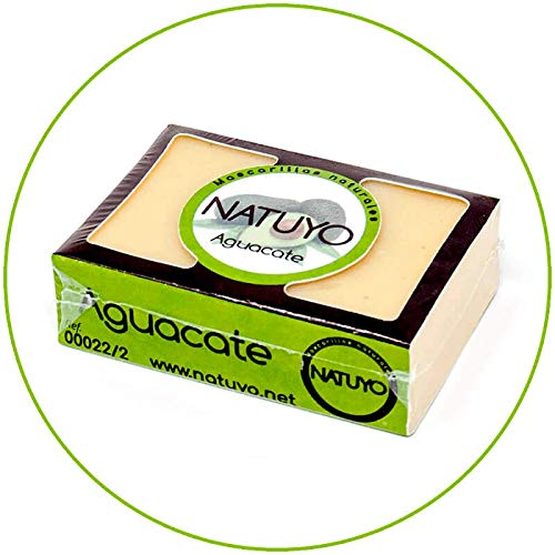 - Mascarilla jabón NATUYO hidratante AGUACATE.- Mejora