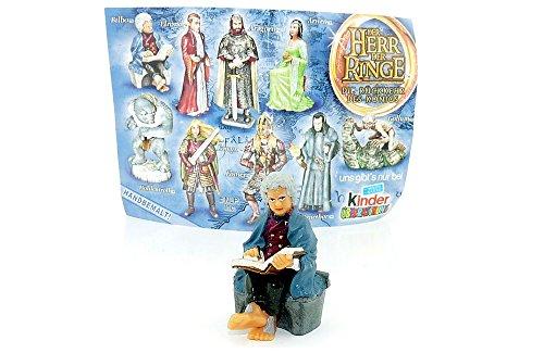 Kinder Überraschung Bilbo Beutlin aus dem Auenland - Herr der Ringe Film Figur - Herr Sammlung Ringe Komplette Der