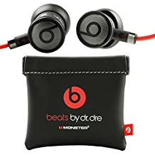 Beats by Dr.Dre Monster - Auriculares In-ear para HTC (3.5 mm Jack) color negro y rojo