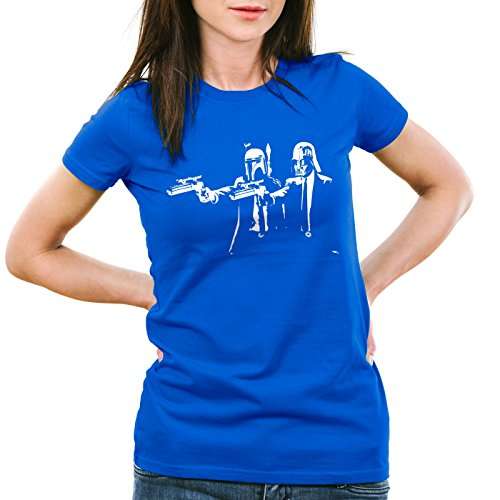 A.N.T. Darth Fiction T-Shirt Women fett star pulp wars empire boba