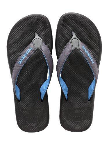 Havaianas Surf (Havaianas Herren Flip Flops Surf Pro Grösse 41/42 EU (39/40 Brazilian) Schwarz Zehentrenner für Männer)