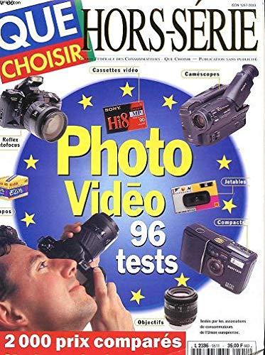 REVUE QUE CHOISIR ? - HORS SERIE - N°60 - REFLEX AUTOFOCUS - DIAPOS - CASETTES VIDEO - CAMESCOPES - JETABLES - COMPACTS - OBEJECTIF - 2000 PRIX COMPARES : OU ACHETER EN EUROPE ?