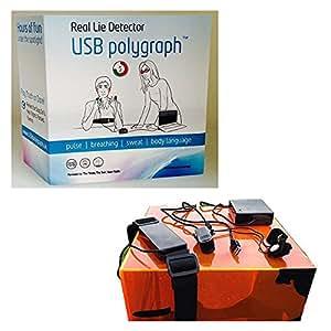 USB Polygraph Machine - Home Lie Detector Testing Kit ...
