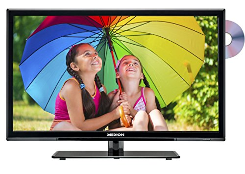 Medion P12236 MD 21336 59,9 cm (23,6 Zoll) LCD-Fernseher (mit LED-Backlight-Technolgie, Full HD, 1920 x 1080 Pixel, Triple Tuner, DVB-T/C/S2, integrierter DVD-Player, integrierter Mediaplayer)