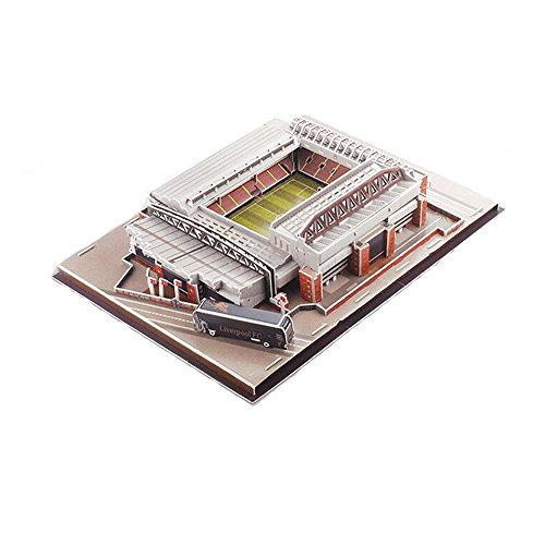 Xueyanwei Coppa Del Mondo Assemblare Jigsaw Puzzle Allianz Anfield Stadium 3D Modello Di Calcio Fans Memorabilia Giocattoli Regalo Per Lo Sviluppo Dei Bambini ' Intelligenza