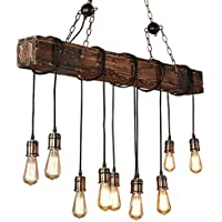 Amazon.es: Madera - Iluminación colgante / Iluminación de ...
