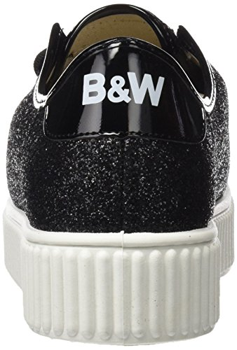 Break&Walk Hv220905, Chaussures Femme Noir (Black)