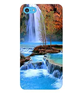HiFi Designer Phone Back Case Cover Apple iPhone 6s Plus :: Apple iPhone 6s+ ( Water Falls )