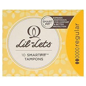 Lil-Lets 10 Smartfit Tampons Regular, 10 per Pack