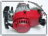 kmhOnline Pocket Bike Motor 49cc 3,5 PS kleines Tuning (rot)