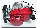 kmhOnline Pocket Bike Motor 49cc 3,5 PS kleines Tuning (rot)