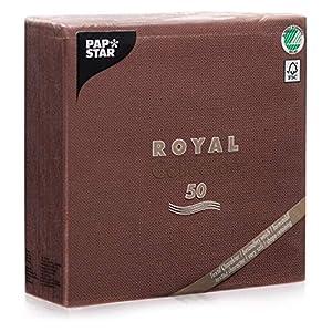 """Servietten 40x40cm """"Royal Collection"""" (50St) uni"""