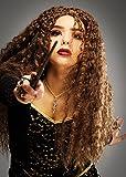 Erwachsene Frauen Bellatrix LeStrange Art lockige Perücke