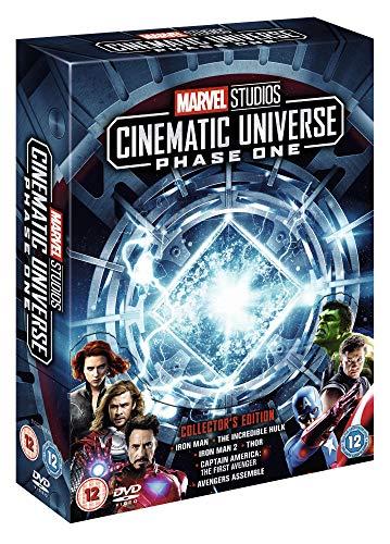 Marvel Cinematic Universe Phase 1 [Italia] [DVD]