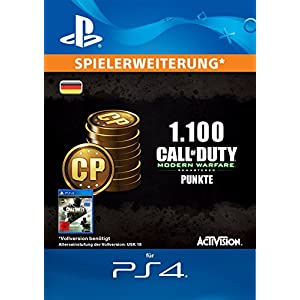 Call of Duty: Modern Warfare Remastered 1100 Points Edition [PS4 Download Code – deutsches Konto]