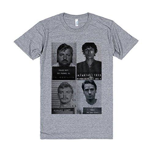 Heathered T-shirt (Skreened Herren T-Shirt Gr. Medium, Grau - Light Heathered Grey)