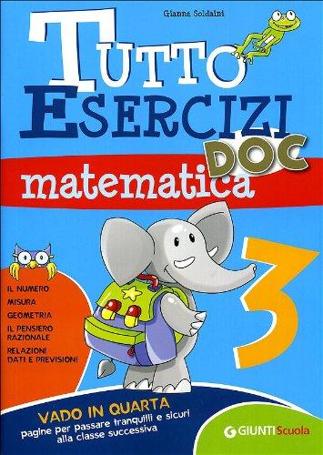 Tutto esercizi DOC. Matematica. Per la Scuola elementare: 3