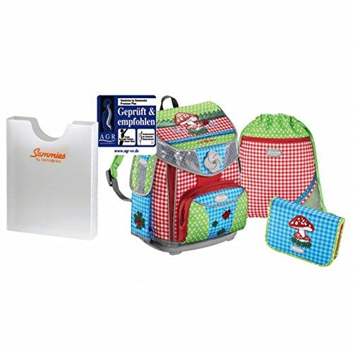 Sammies Premium Plus - Schulranzen Set 3 tlg. + kostenlose Heftbox - Color Joy