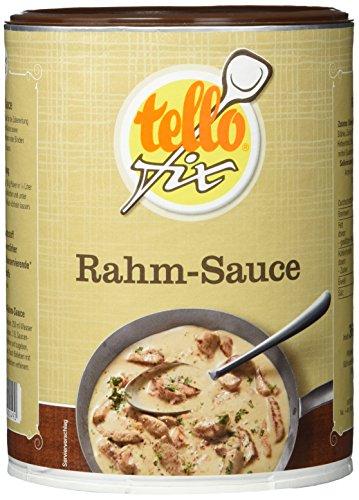 tellofix Rahm-Sauce, 2er Pack (2 x 364 g Packung)