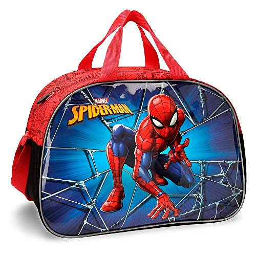 Marvel Spiderman Black Zaino 43 centimeters 28.9 Multicolore (Multicolor)