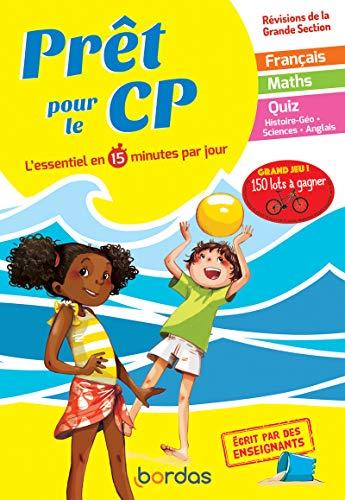 Prêt pour le CP – Cahier de vacances, révisions de la Grande Section (GS)