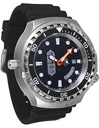 Riesige 52mm de buceo automático reloj con válvula de helium y cristal de zafiro t0302