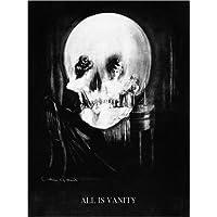 Stampa su tela 60 x 80 cm: All is Vanity