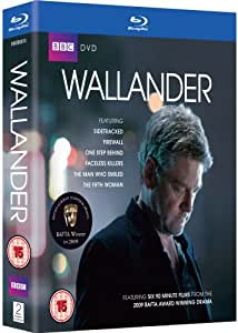 Wallander - Series 1 & 2 Box Set [Blu-ray] [Region Free]