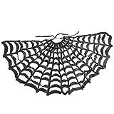 MagiDeal Cape Toile D'araignée Cape Costume Sorcier Sorcière pour Déguisement Holloween