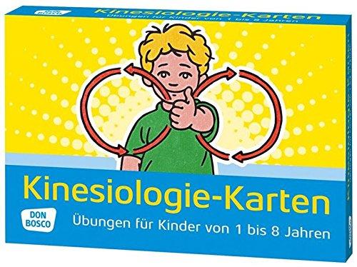 Kinesiologie-Karten: Übungen für Kinder von 1 bis 8 Jahren par Nina Hock