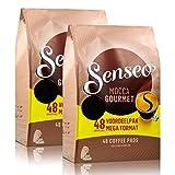 Senseo Kaffeepads Mocca Gourmet, Frisch & Intensiv, Kaffee für Kaffepadmaschinen, 96 Pads