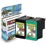 Alaskaprint WOW-Angebot 2x Druckerpatronen Ersatz für HP 337 343 XL mit Hp Deskjet 5900 5940 5950 6940 6980 Officejet 100 150 Mobile 6300 6310 6315 Photosmart 2570 2575 8050 8750 C4100 C4110 C4140 D5163 D5168 D5065