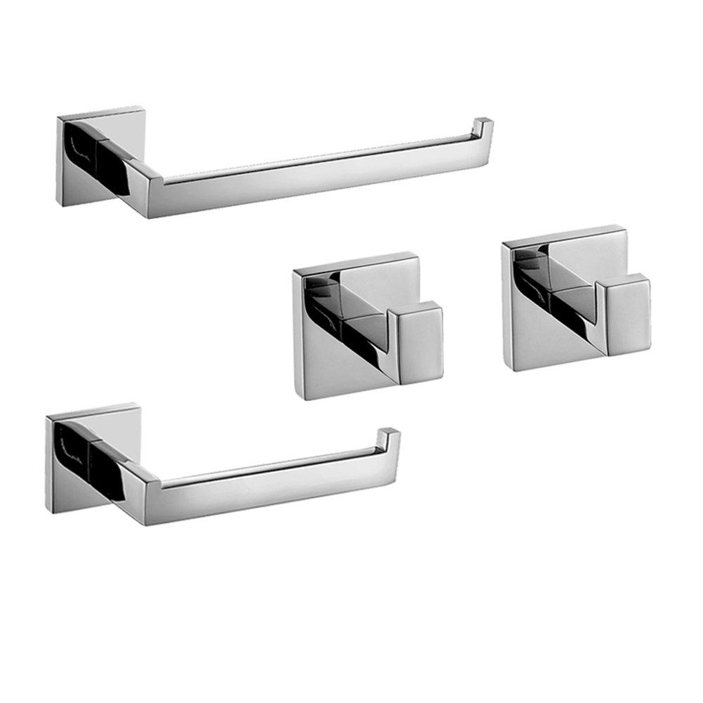 Homovater accessori da bagno con montaggio a parete in - Accessori bagno acciaio ...