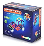 Magnetic Toys Building Tiles Block Stack Set for Toddlers, Kids Boys Girls Teenagers and Adults. 56 pcs Educational Games for Kids. Use for Travel or Fridge - NimNik - amazon.co.uk