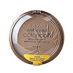 Wet n Wild Wet n Wild Color Icon Bronzer with SPF 15, Reserve Your Cabana [743A] 0.46 oz (Pack of 2)