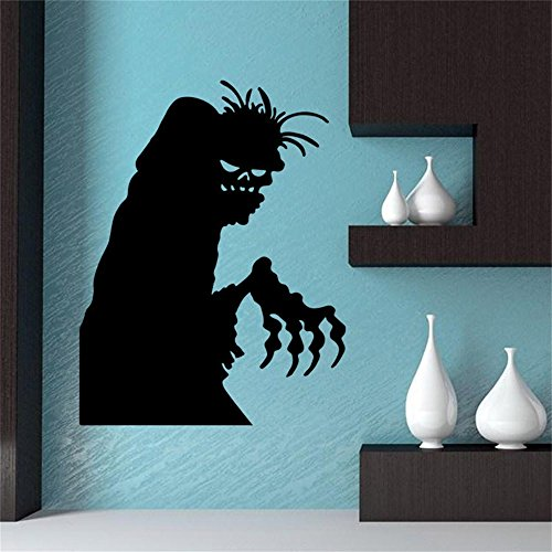 Overdose Halloween Aufkleber Home Haushalt Wandbild Decor Aufkleber PVC Wandtattoo 58x 45cm (Zu Machen Halloween-leckereien)
