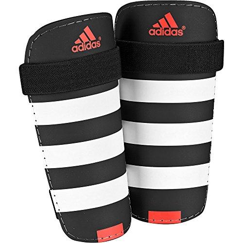adidas Everlite Schienbeinschoner, Black/White/Solar Red, M