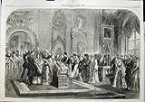 Heirat-Herzog 1866 Alexander Dagmar Palace Petersburg