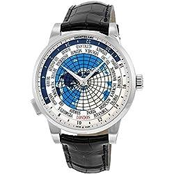Montblanc Heritage Spirit Orbis Terrarum World Map Automatic Men's Watch 112308