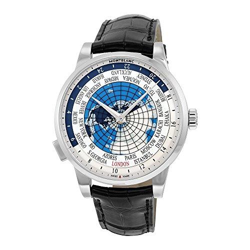 MontBlanc Heritage Spirit Orbis Terrarum Weltkarte Automatische Herren-Armbanduhr 112308
